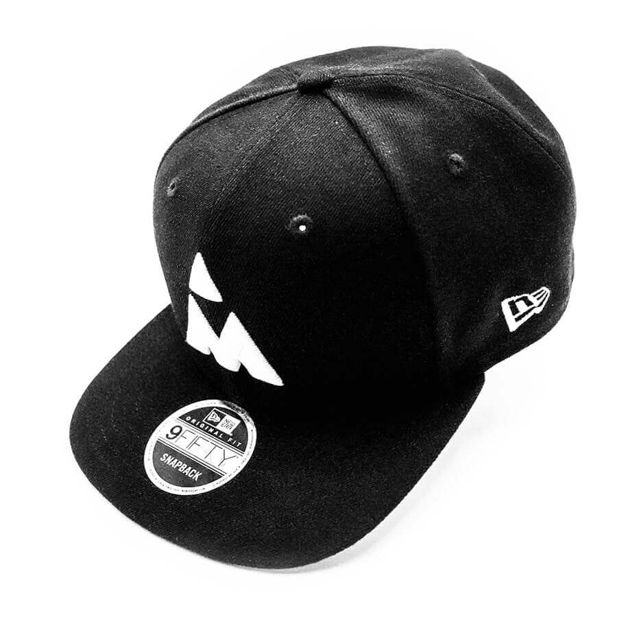 Black Mezz New Era 9FIFTY Adjustable Snapback Hat